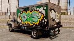 Nouveau graffiti à Yankee