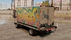 Nouveau graffiti pour Mule