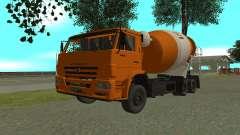 KAMAZ 6520 ciment