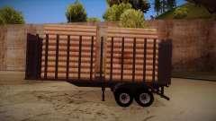 Camion semi-remorque bois pour MB 2644 trem fren
