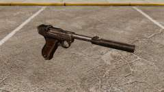 Pistole Parabellum v2