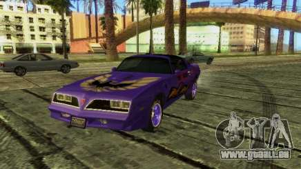 Pontiac Firebird Overhaulin für GTA San Andreas