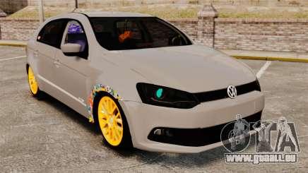 Volkswagen Gol G6 2013 Turbo Socado für GTA 4