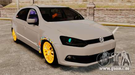 Volkswagen Gol G6 2013 Turbo Socado pour GTA 4