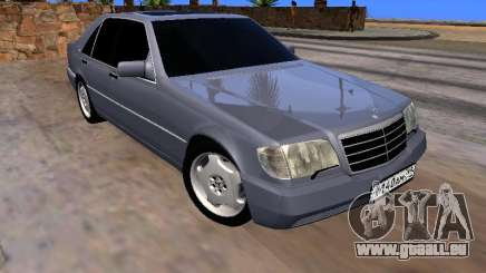Mercedes-Benz S600 W140 für GTA San Andreas