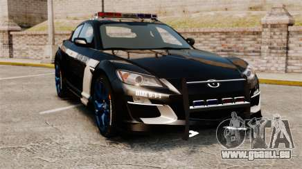 Mazda RX-8 R3 2011 Police für GTA 4