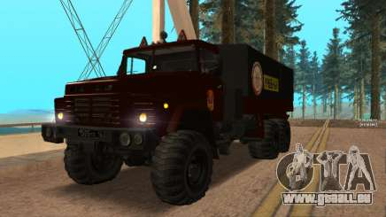 Camion auto-école v. 2.0 pour GTA San Andreas