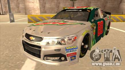 Chevrolet SS NASCAR No. 88 Diet Mountain Dew für GTA San Andreas