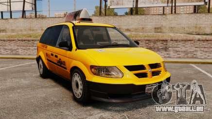 Dodge Grand Caravan 2005 Taxi LC für GTA 4