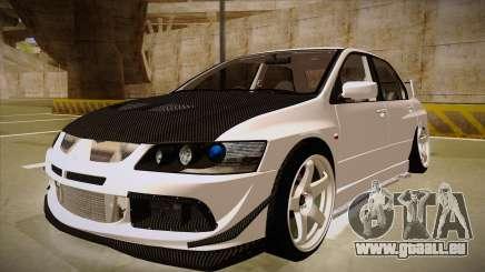 Mitsubishi EVO VIII pour GTA San Andreas