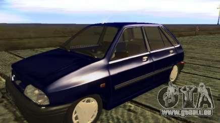 Kia Pride Hatchback für GTA San Andreas