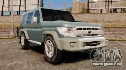 Toyota Land Cruiser 76 Wagon GXL 2010 für GTA 4