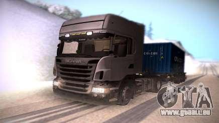 Scania R500 Topline für GTA San Andreas