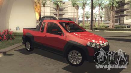 Fiat Strada Locker 2013 für GTA San Andreas