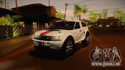 Melon EXR S 2012 FIV + AD pour GTA San Andreas