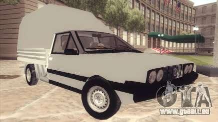 FSO Polonez Mr89 Truck pour GTA San Andreas