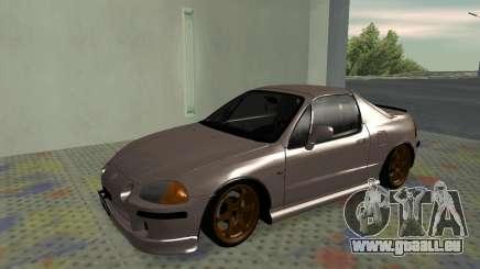 Honda CRX DelSol TMC für GTA San Andreas