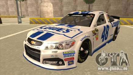 Chevrolet SS NASCAR No. 48 Lowes white für GTA San Andreas