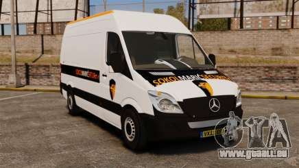 Mercedes-Benz Sprinter Sokol Maric Security für GTA 4