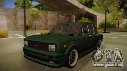 Fiat 128 Europe V Tuned für GTA San Andreas