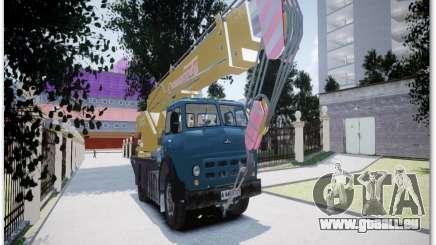 MAZ KS3577-4-2 Sinegorec pour GTA 4