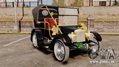 Voitures anciennes 1910 pour GTA 4