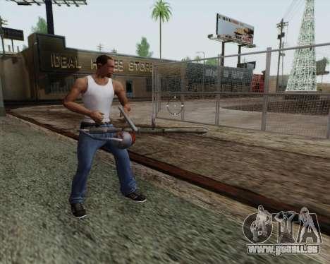 Nouveau lance-flammes pour GTA San Andreas quatrième écran