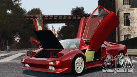 Lamborghini Diablo VT 1994 für GTA 4 rechte Ansicht