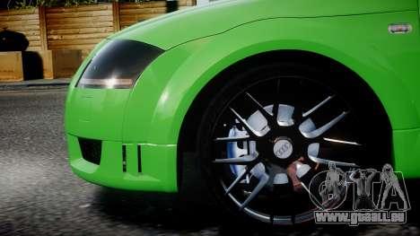 Audi TT Coupe 3.2 Quattro 2004 für GTA 4 linke Ansicht