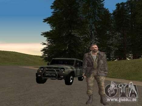 Viktor Reznov pour GTA San Andreas