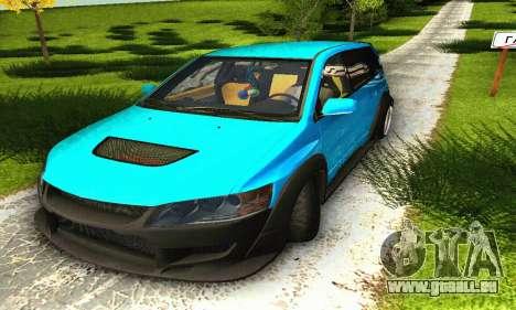 Mitsubishi Evo IX Wagon S-Tuning pour GTA San Andreas