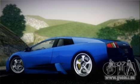 Lamborghini Murciélago 2005 pour GTA San Andreas vue arrière