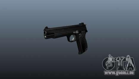 Halbautomatische Pistole SIG P210 für GTA 4