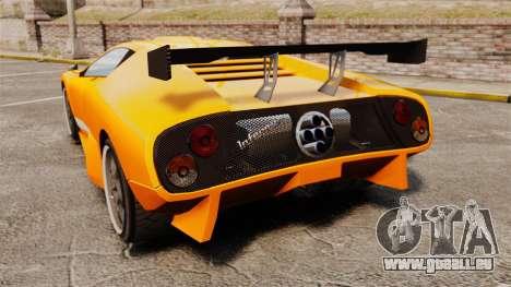 GTA V Infernus Pegassi pour GTA 4 Vue arrière de la gauche
