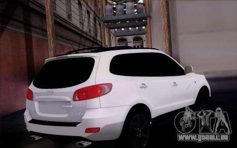 Hyundai Santa Fe pour GTA San Andreas laissé vue