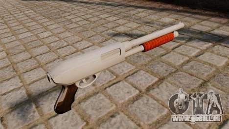 Nouveau fusil de chasse pour GTA 4 secondes d'écran