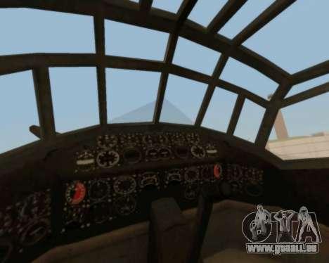 Junkers Ju-52 pour GTA San Andreas vue de côté