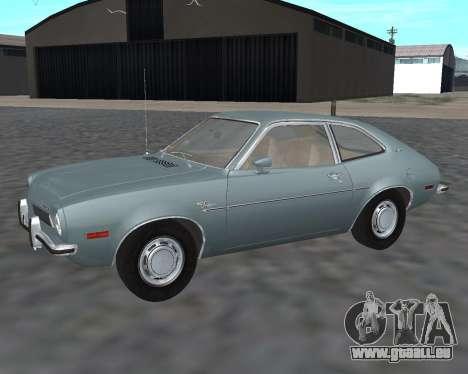 Ford Pinto 1973 für GTA San Andreas