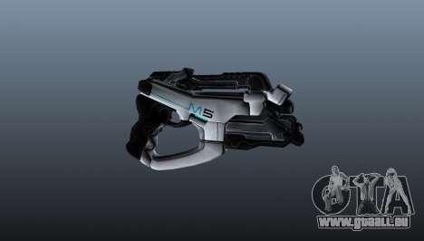 Pistolet M5 Phalanx pour GTA 4 troisième écran