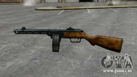 Špagina Maschinenpistole, 1941 für GTA 4 dritte Screenshot
