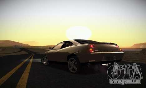 Fiat Coupe pour GTA San Andreas vue de dessous