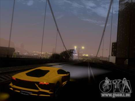 Lamborghini Aventador LP720-4 2013 pour GTA San Andreas moteur