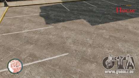 Enquête d'étoiles jaunes pour GTA 4 troisième écran