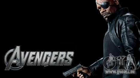 Boot-Bildschirm Avengers für GTA 4 neunten Screenshot