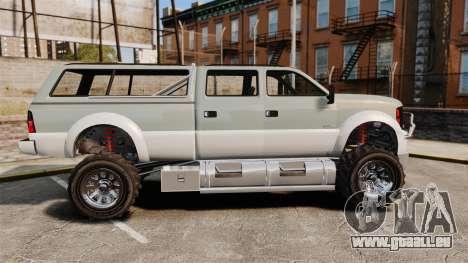 GTA V Vapid Sandking XL 4500 pour GTA 4 est une gauche