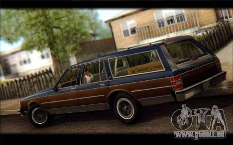 Chevrolet Caprice 1989 Station Wagon pour GTA San Andreas laissé vue
