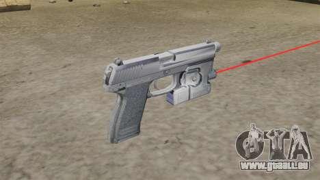 H & K MK23 Socom Pistole für GTA 4 Sekunden Bildschirm