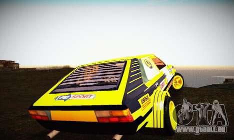 FSO Polonez 2500 Racing 1978 pour GTA San Andreas vue intérieure