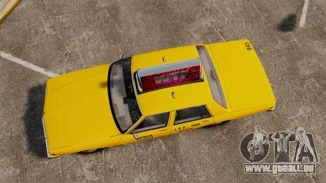 Chevrolet Caprice 1987 L.C.C. Taxi für GTA 4 rechte Ansicht