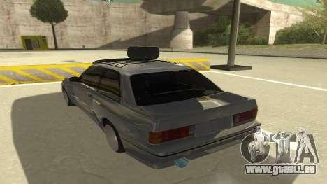 BMW E30 1991 für GTA San Andreas Rückansicht